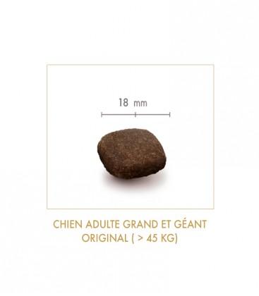 Croquettes Grain Free Sans Céréales - Original - Chien Adulte de Grande Taille - 15 kg