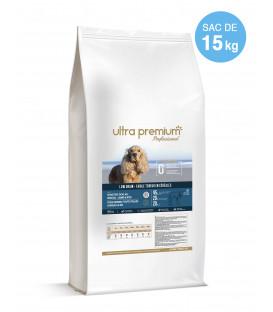 Croquettes Low Grain pour chien sensible toutes tailles - Agneau et Riz - 15 kg