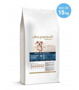 Croquettes Low Grain pour Chiens de Taille Moyenne - 15 kg