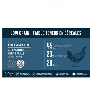 Croquettes Low Grain pour Chiens de Petite Taille (jusqu'à 10 kg)