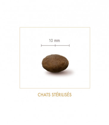 Croquettes light pour chats stérilisés - Poulet & Riz
