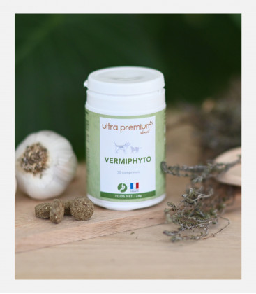 Vermifuge naturel - Vermiphyto - 30 comprimés