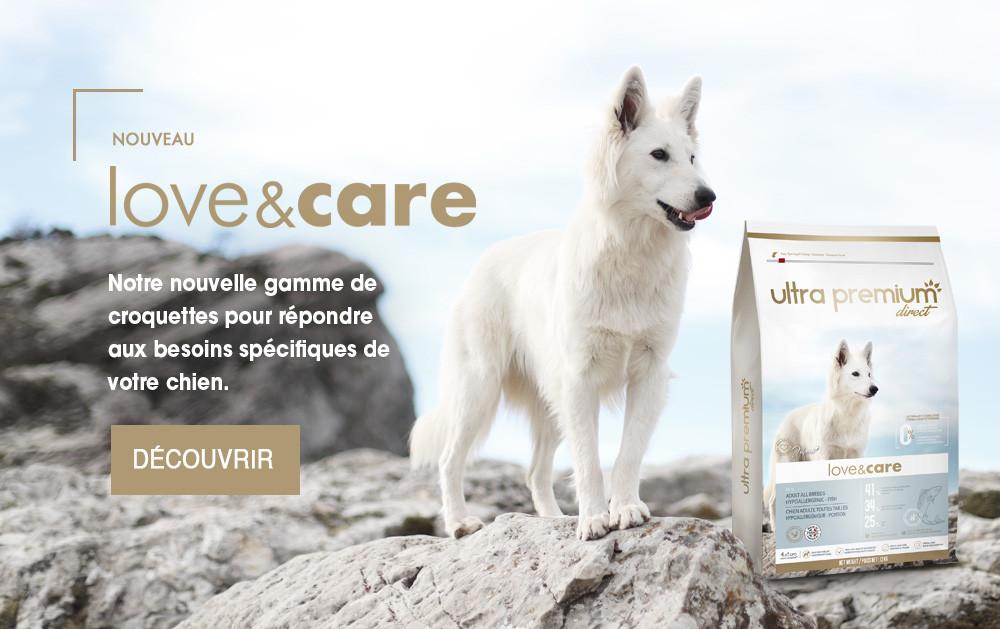 croquettes chien spécifiques love and care