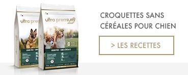 Croquettes Sans Céréales pour Chiens